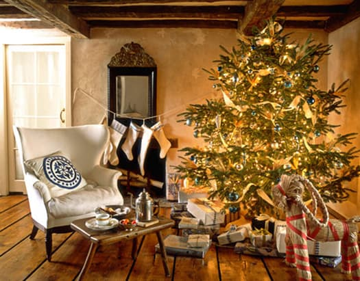 Beautiful Scandinavian Christmas home