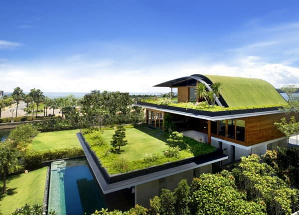 featured posts image for Amazing zen house with a sky garden