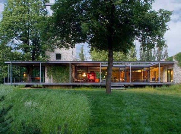 featured posts image for Unbelievable glass home in Krakow