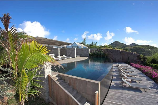 featured posts image for Captivating stone villa on St. Barts