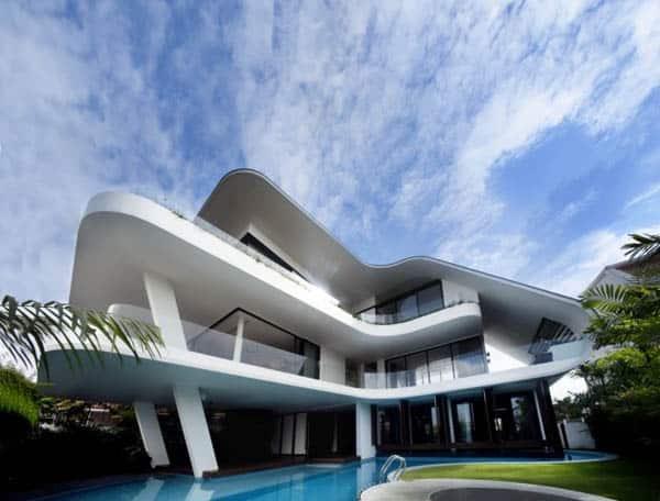 featured posts image for Sensational modern property atop Siglap Hill