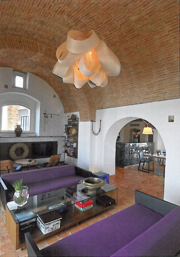 featured posts image for A fortified farmhouse finds new life in Italy