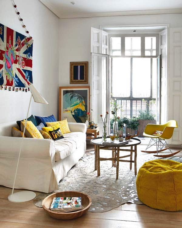 Decordemon a spanish apartment full of color and energy Spanish apartment decor