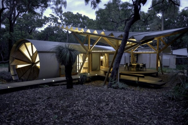 featured posts image for Living in an eco chic luxury pod in Australia