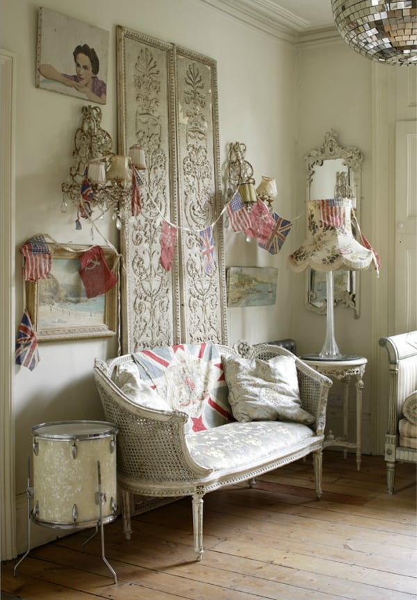 43 Brilliant and inspiring shabby chic interiors