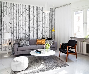 featured posts image for Charming Swedish flat in Kungsladugård