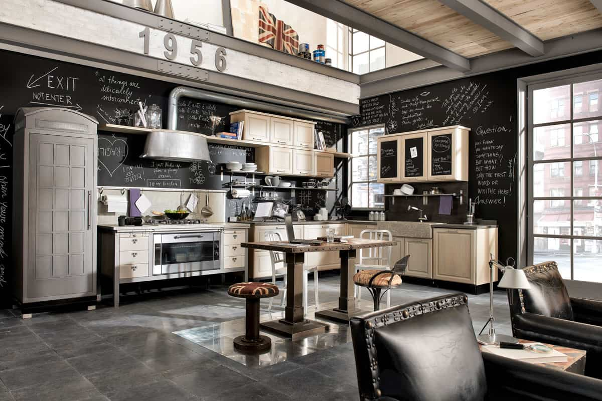 featured posts image for Vintage chic kitchens from Marchi Cucine