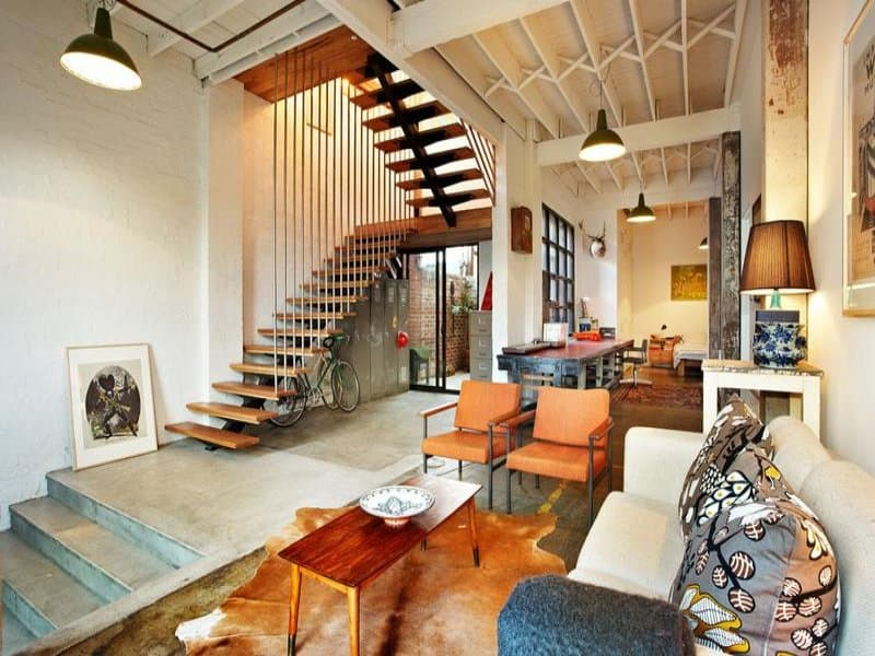 featured posts image for Unique New York-style warehouse conversion