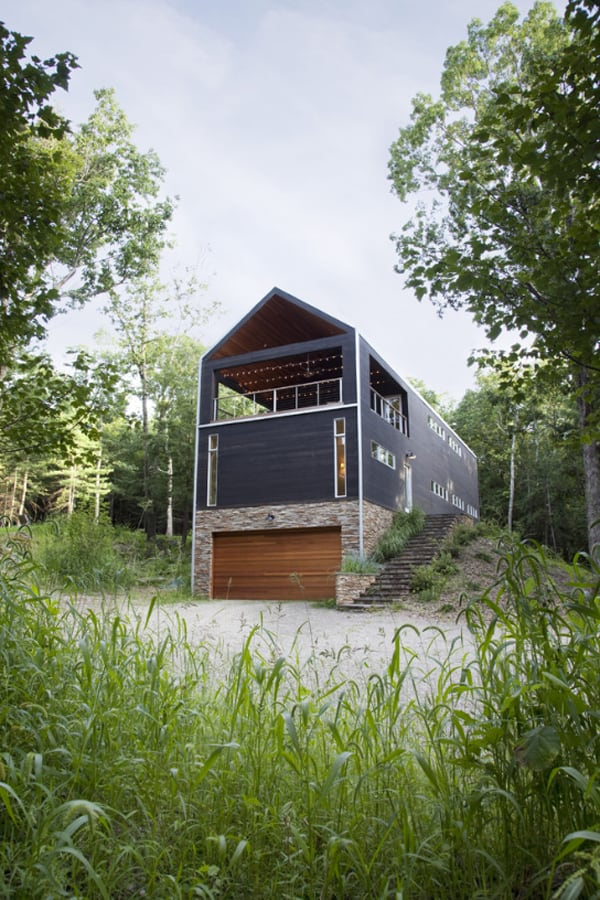 featured posts image for A barn house retreat in the hills of New York