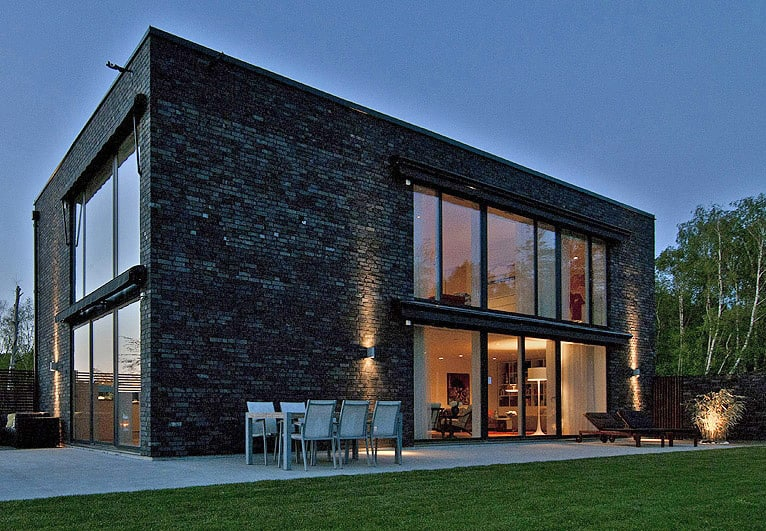 featured posts image for Black brick villa with chic Scandinavian charm