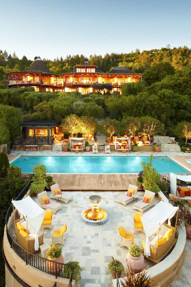 featured posts image for Sumptuous Auberge du Soleil in wine country