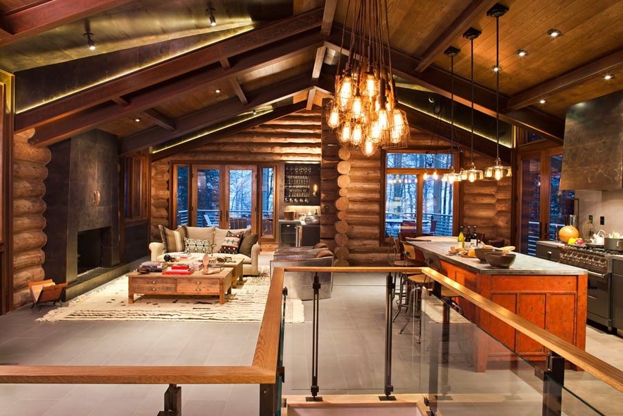 featured posts image for A rustic and cozy mountain village cabin