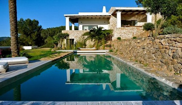 featured posts image for Charming and rustic art-filled Ibizan farmhouse