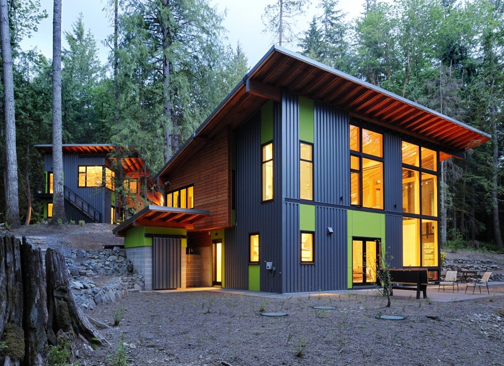 forest house architecture modern mountian retreat houses interior interior 291