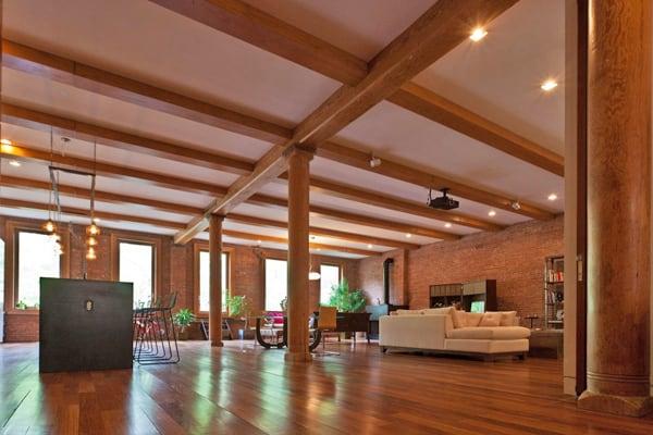 noho loft open floor plan loft ideas pinterest. Black Bedroom Furniture Sets. Home Design Ideas