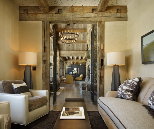 Home Interior Decorating Pictures: Montana Ranch Home Exuding Rustic-modern Style