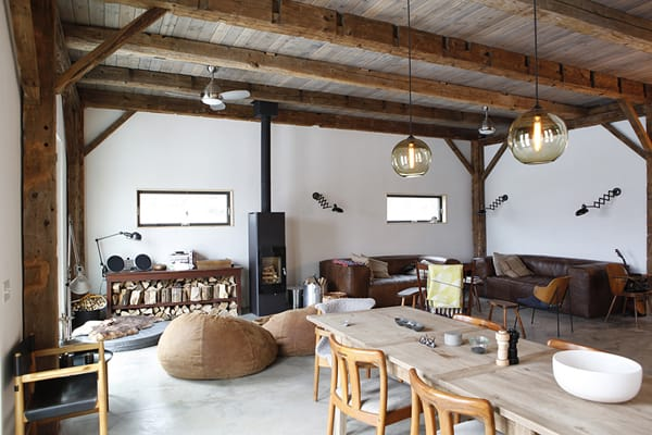 featured posts image for Nineteenth century restored barn in the Catskills