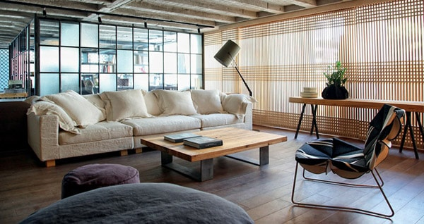 featured posts image for Warehouse loft in Athens with Japanese aesthetics