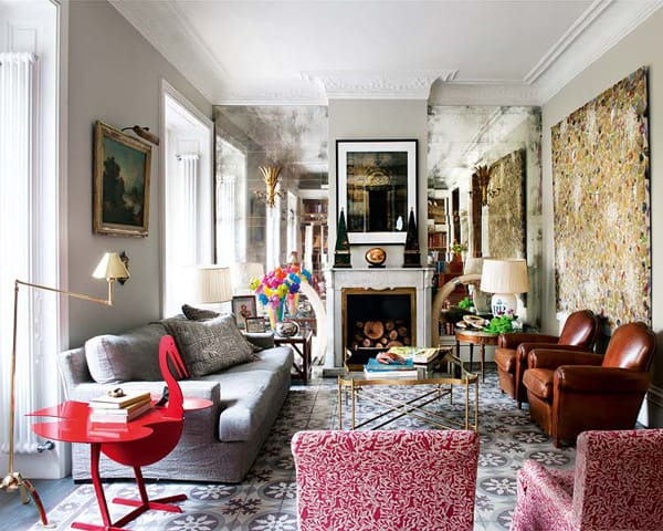 featured posts image for Beautiful architecturally salvaged home in Madrid