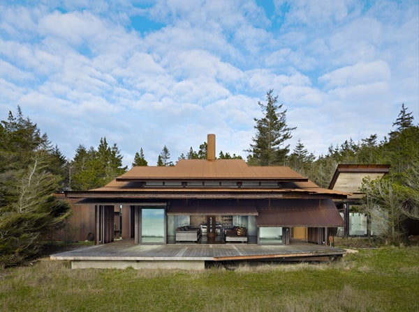 featured posts image for Fascinating modern dwelling on the San Juan Islands