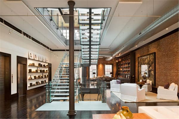 featured posts image for Beyond spectacular loft mansion in TriBeCa