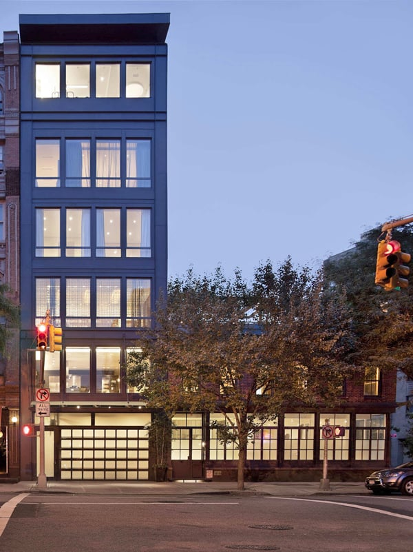 featured posts image for Striking six-story townhouse in TriBeCa's West Historic District