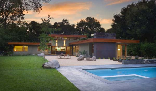featured posts image for Warm and contemporary Menlo Park retreat