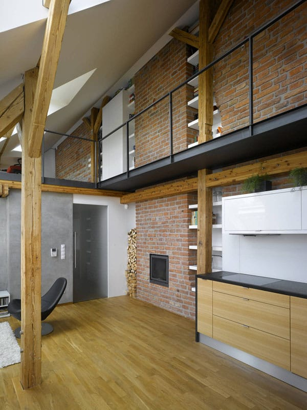 featured posts image for Mini-Loft Apartment Conversion in Prague