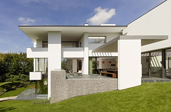 Contemporary German Villa Surrounded By Forest