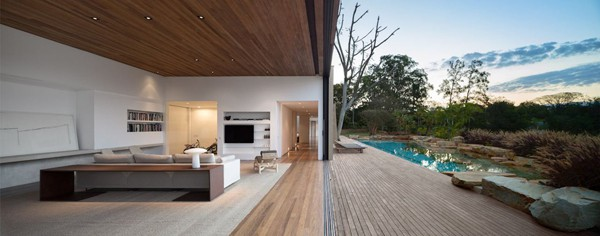 featured posts image for Modern dwelling merges with nature: Casa Itu