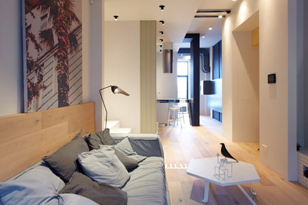 featured posts image for Crisp and clean three-level urban apartment in Kiev