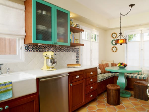 31 bright and colorful kitchen design inspirations Help design kitchen colors