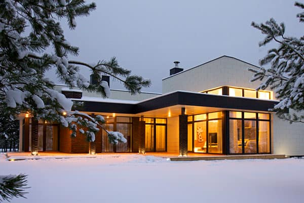 featured posts image for Inviting Lithuania residence with natural elements