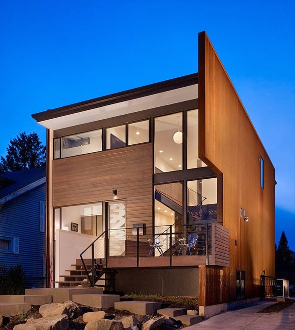 featured posts image for Dwelling with intriguing modern design in Seattle