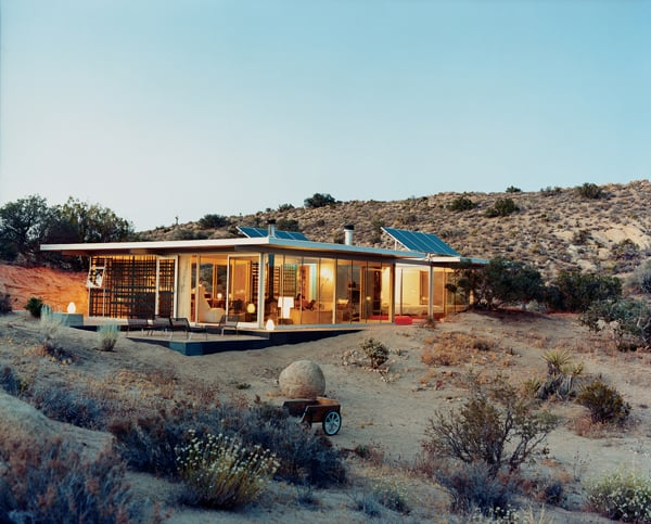 featured posts image for Off-grid itHouse takes shelter in the California desert