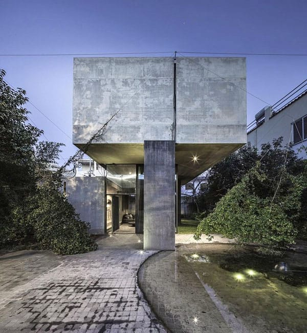 featured posts image for Minimalist concrete shelter: Residence in Kifissia