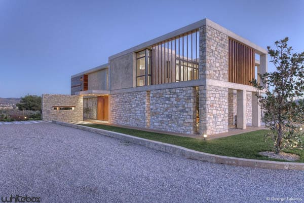 Stone House in Anavissos-03-1 Kindesign