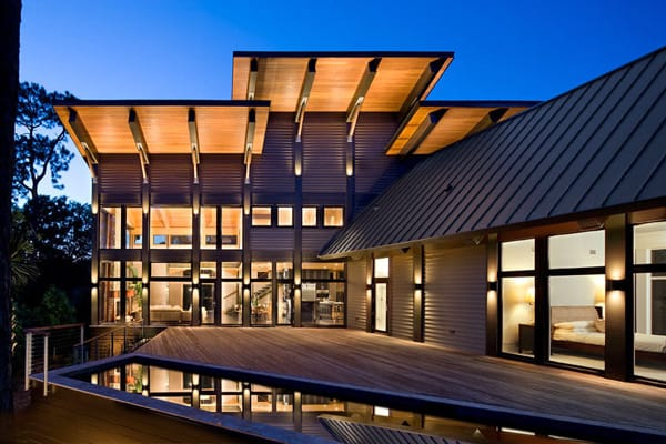 featured posts image for Glass house embraces its natural habitat on Kiawah Island