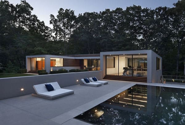 featured posts image for Mid-century modern New Canaan Residence