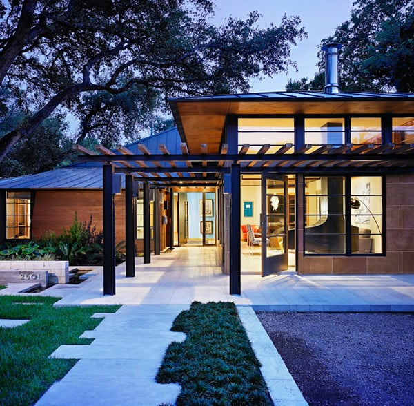 featured posts image for Fusion of Asian influences and modern architecture: Tarrytown House