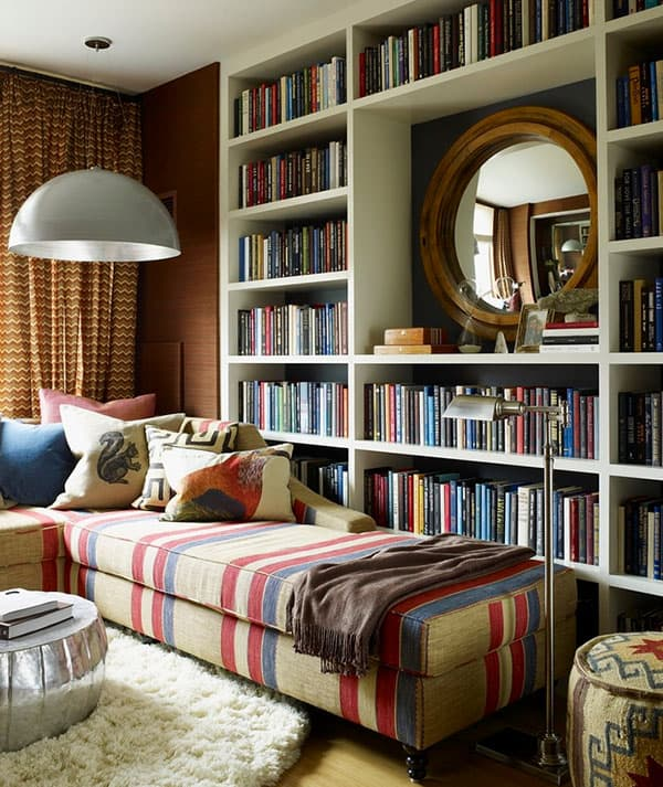 Home Library Design Ideas-01-1 Kindesign