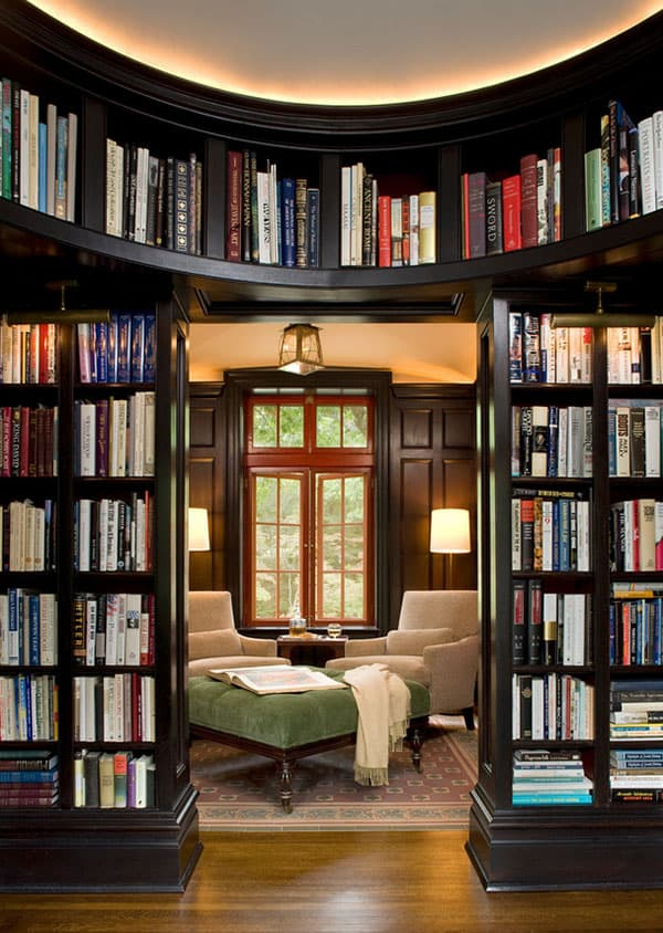 Home Library Design Ideas-05-1 Kindesign