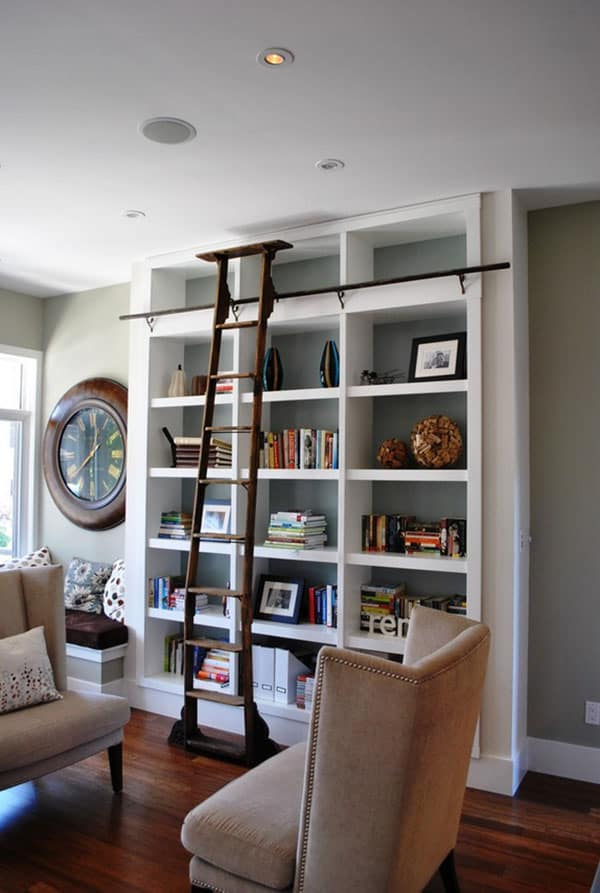 Home Library Design Ideas-19-1 Kindesign