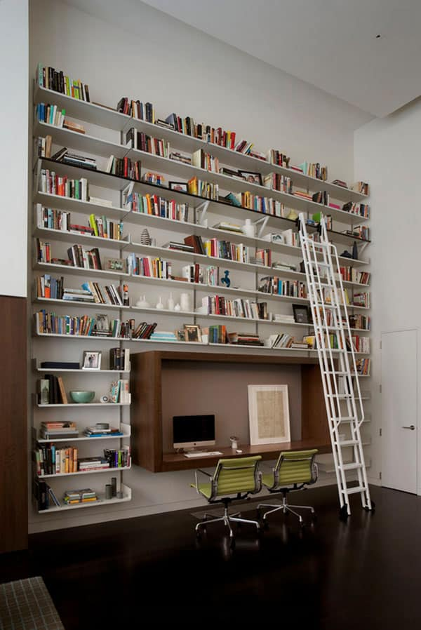 Home Library Design Ideas-23-1 Kindesign