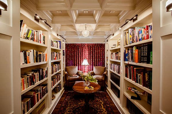Home Library Design Ideas-28-1 Kindesign