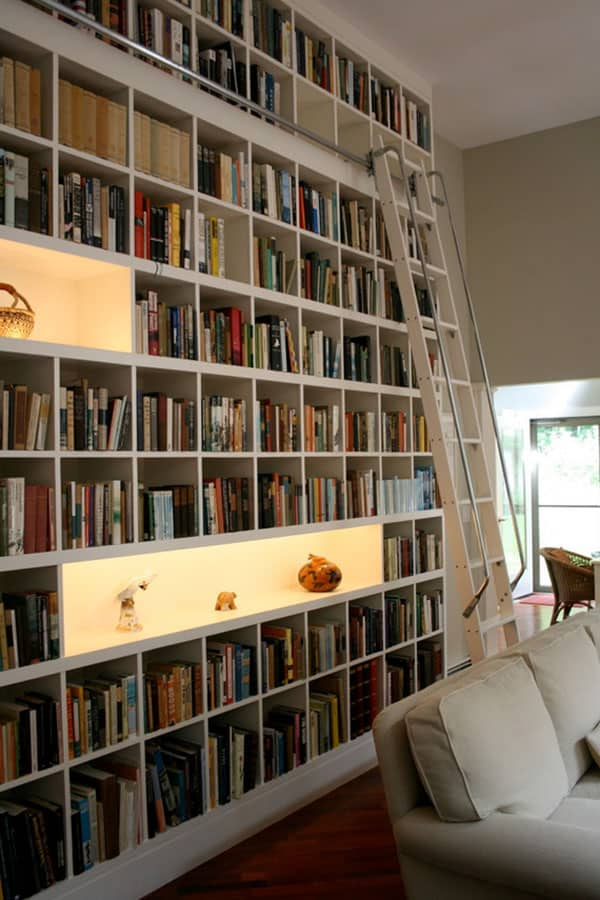 Home Library Design Ideas-29-1 Kindesign