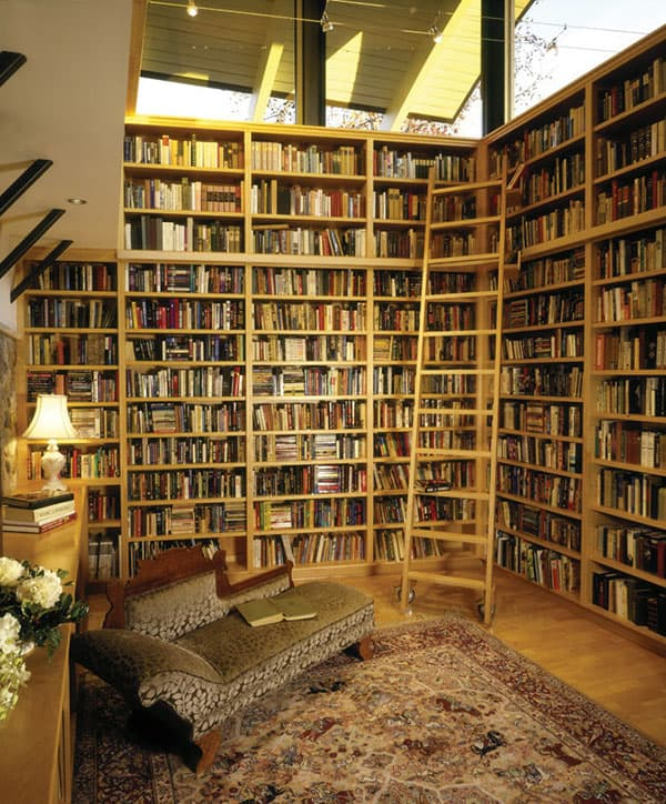 Home Library Design Ideas-34-1 Kindesign