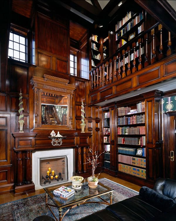 50 Jaw dropping Home Library Design Ideas
