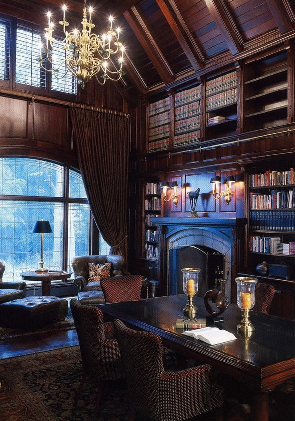 Decent Study Rooms: 50 Jaw-dropping Home Library Design Ideas