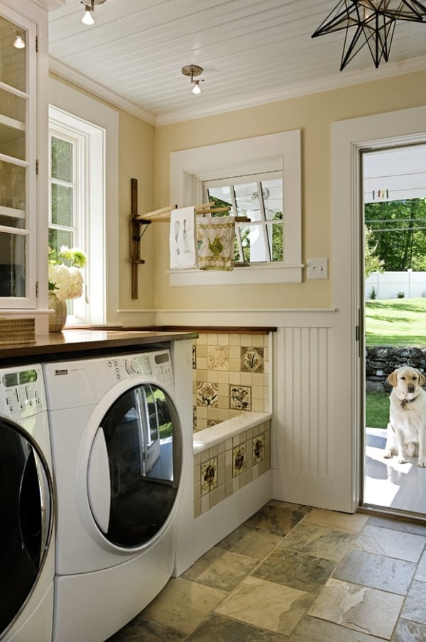 Small Laundry Room Decorating Ideas | decorating zen